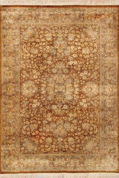 Tabriz Hand-Knotted Wool Area Rug