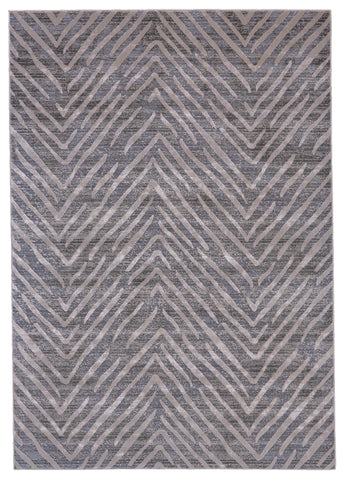 Vanhorn Gray Machine Made Area Rug