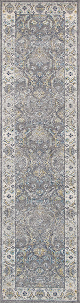 Grey Chelsea Design Area Rug