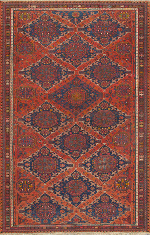 Sumak Collection Hand-Knotted Lamb's Wool Area Rug