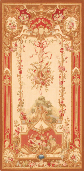 Tapestry  Hand-Knotted Silk & Wool Area Rug