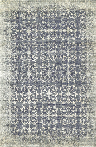 Margaux Dark Gray Machine Made Area Rug