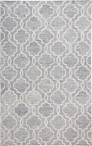 Natal Gray/Ivory Tufted Area Rug