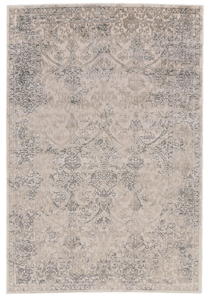 Alexander Light Gray Machine Made Area Rug