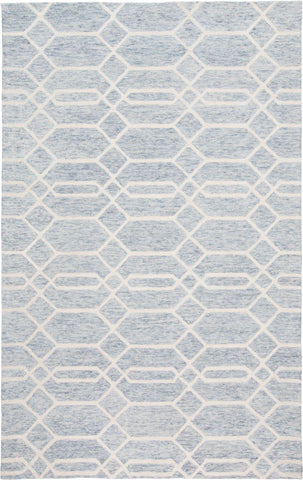 Natal Blue/Gray Tufted Area Rug