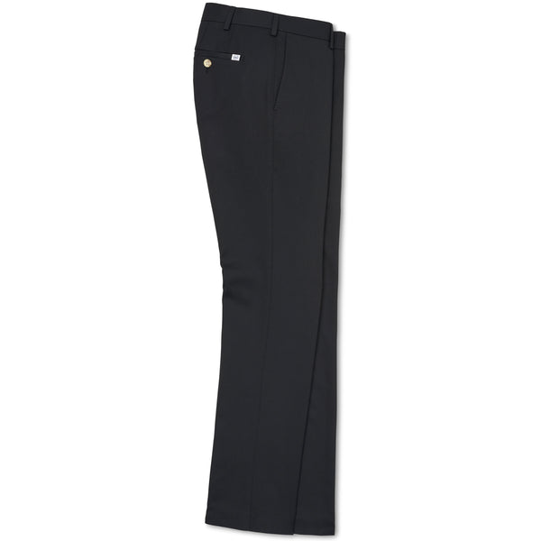 Peter Millar Durham High Drape Performance Black Pant