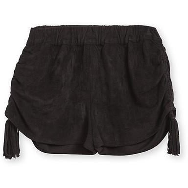 ASTARS Arianna Vegan Shorts Black