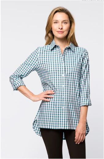Tyler Boe Cotton Charles Check Tiffany Workshirt