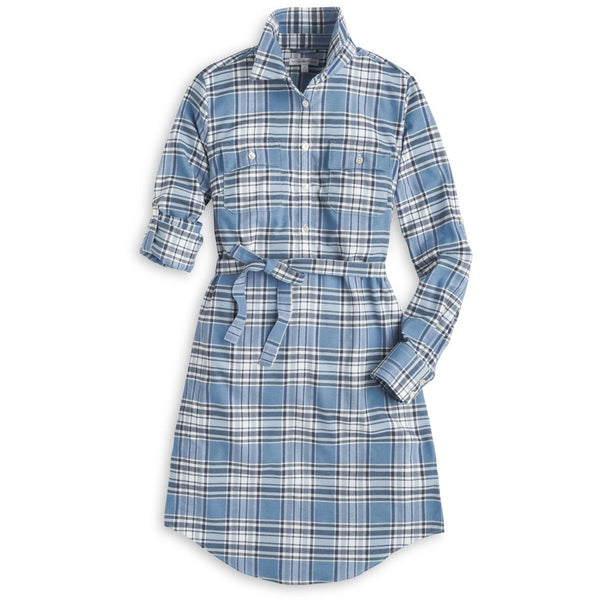 Peter Millar Gwen Performance Flannel Dress