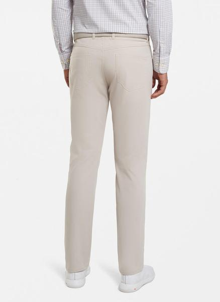Peter Millar Spring eb66 Performance Five-Pocket Pant in Sand