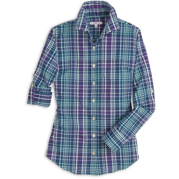 Peter Millar Canyon Multi-Check Performance Woven