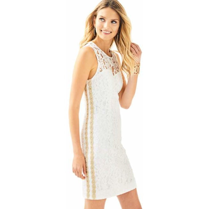 Lilly Pulitzer Mila Shift Dress Resort White