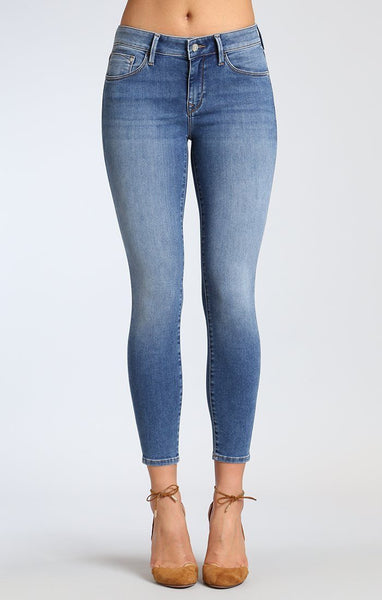 Mavi Adriana Ankle Super Soft Skinny In Mid Supersoft