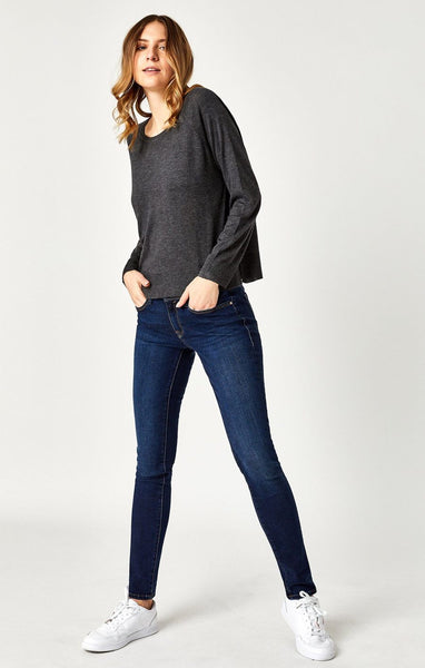Mavi Alexa Skinny Deep Soft Gold Lux Move