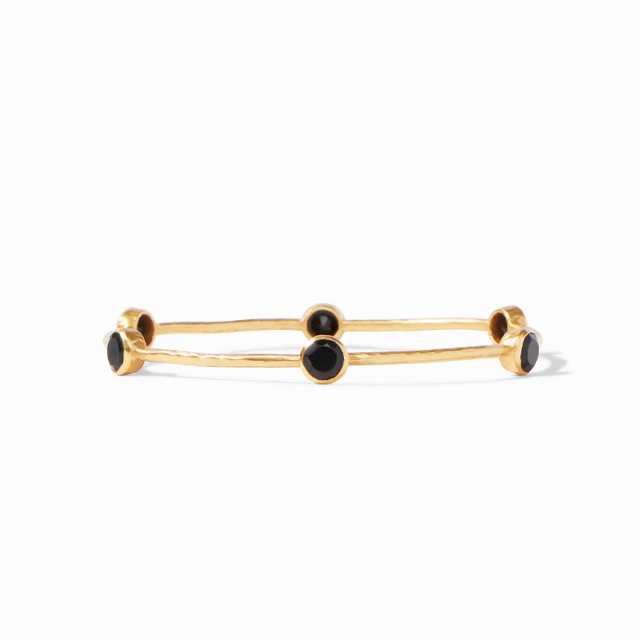 Julie Vos Milano Bangle Obsidian Black