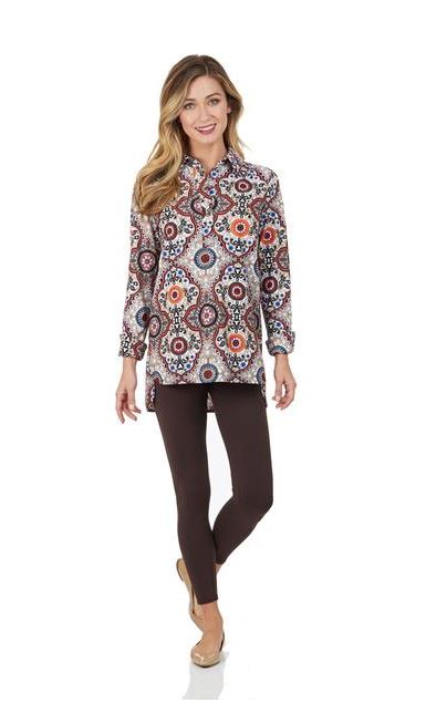 Jude Connally Hadley Top Jude Cloth - Moroccan Medallion