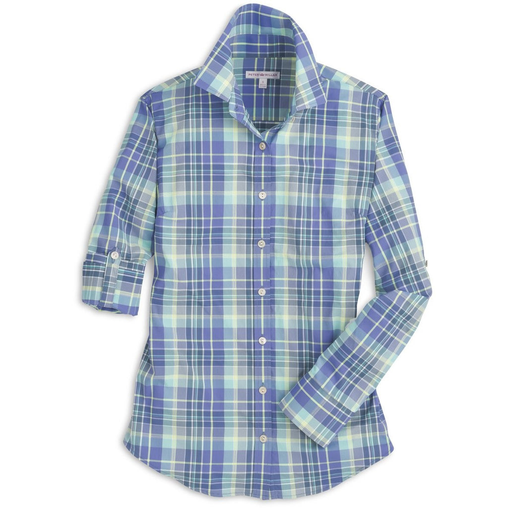 Peter Millar Destination Plaid Performance Multi