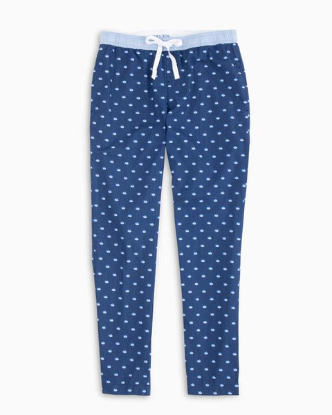 Southern Tide Skipjack Lounge Pant Blue Night