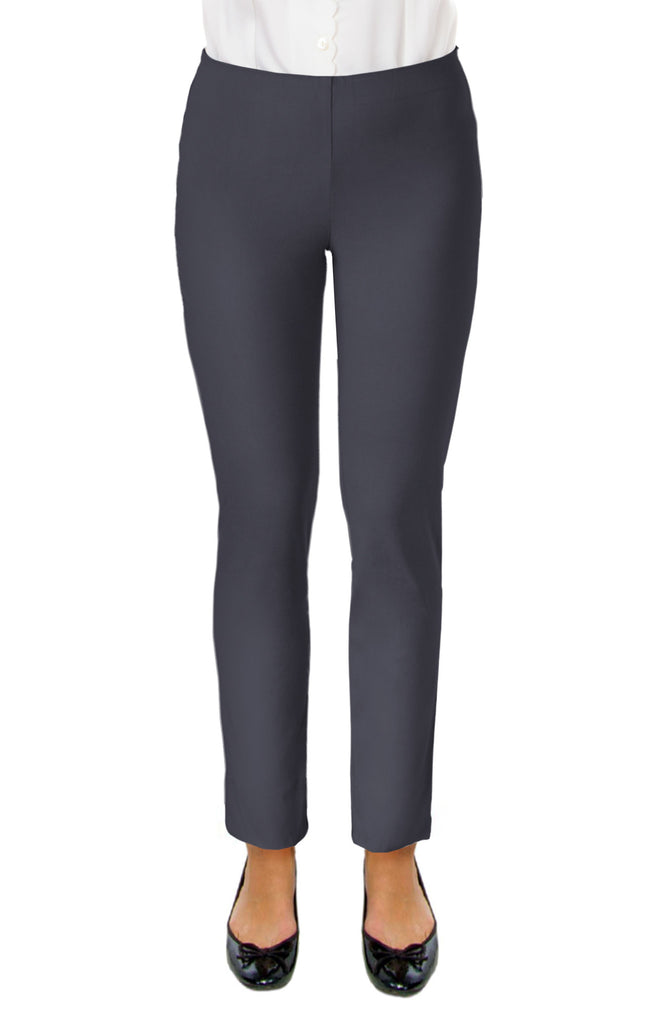 Gretchen Scott Gripe Less Pant Charcoal