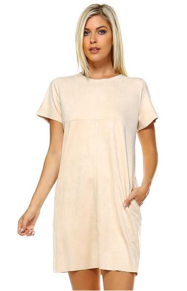 JOH Audrey Short Dress Cream