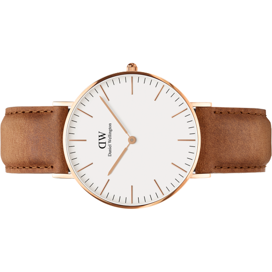 Daniel Wellington Classic Durham 36MM Watch Rose Gold