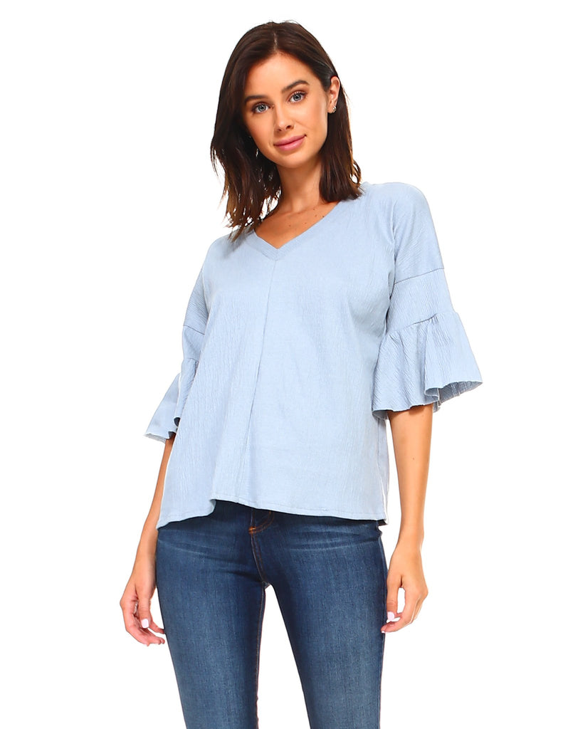 JOH Kristina Top-Denim Blue