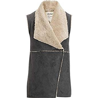 Dylan Denim Maddy Reversible Vest Denim