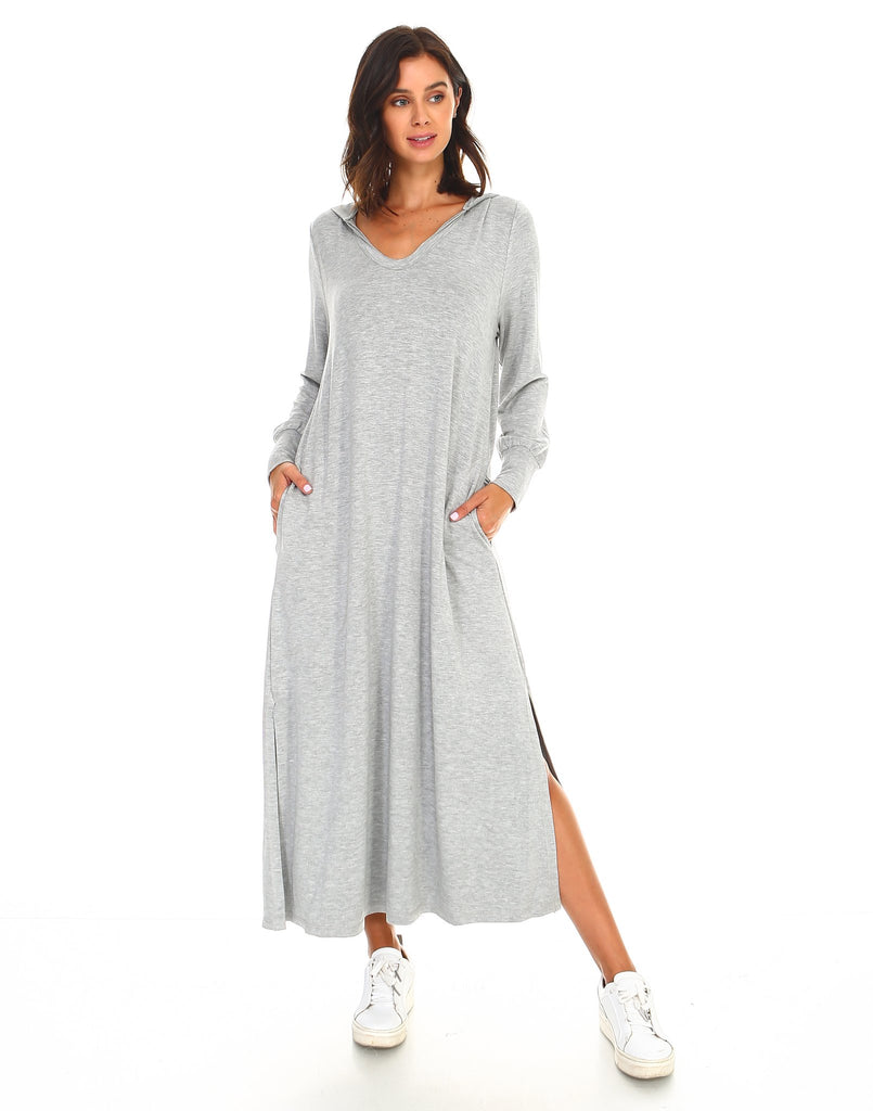 JOH Francine Dress Heather Grey