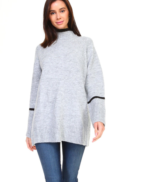 JOH Hazel Sweater Heather Grey