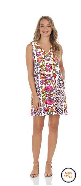Jude Connally Jacey Dress  Jude Cloth - Floral Block