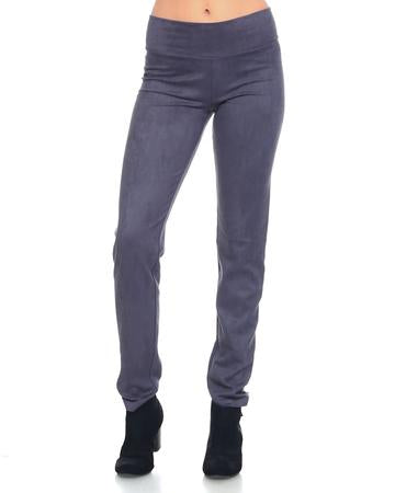 JOH Annelise Suede Leggings Charcoal