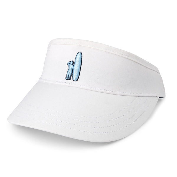 Johnnie-O Chevy Visor Hat in White