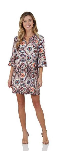 Jude Connally Kerry Dress Jude Cloth - Moroccan Medallion