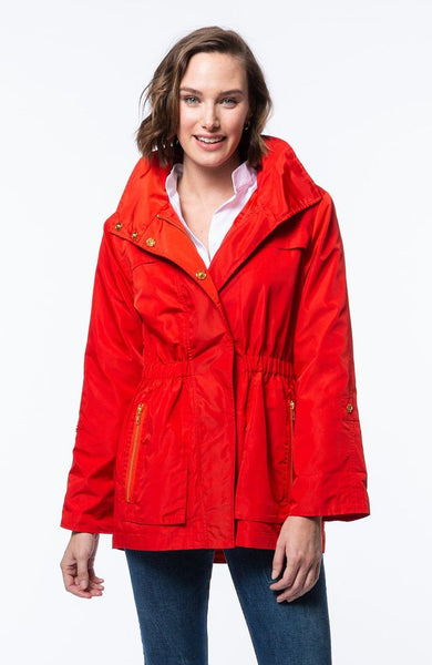 Tyler Boe Newport Rain Slicker Lava Red