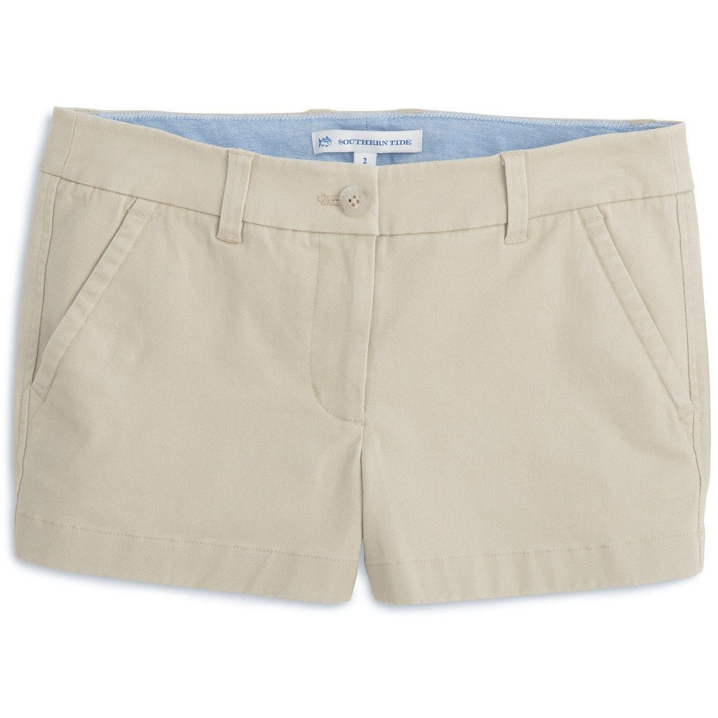 "Southern Tide 3"" Leah Short Driftwood"