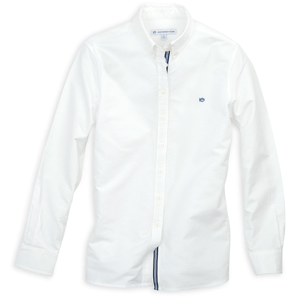 Southern Tide Madison Oxford Classic White