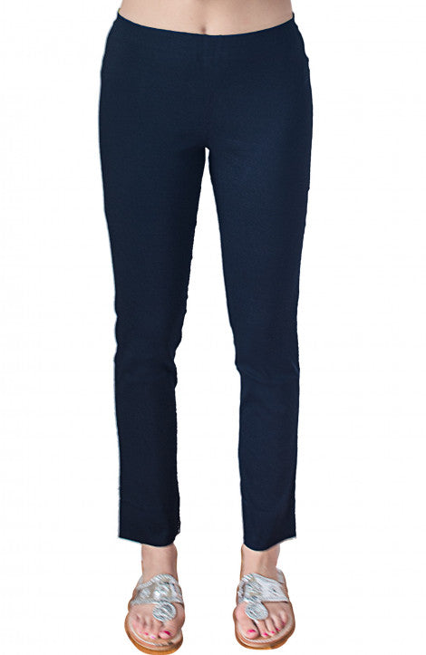 Gretchen Scott Gripe Less Pull-On Pant Navy