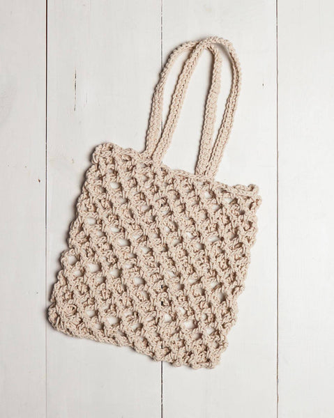 Mersea  Monterey Net Tote Natural