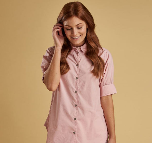 Barbour Islay Shirt Pale Pink