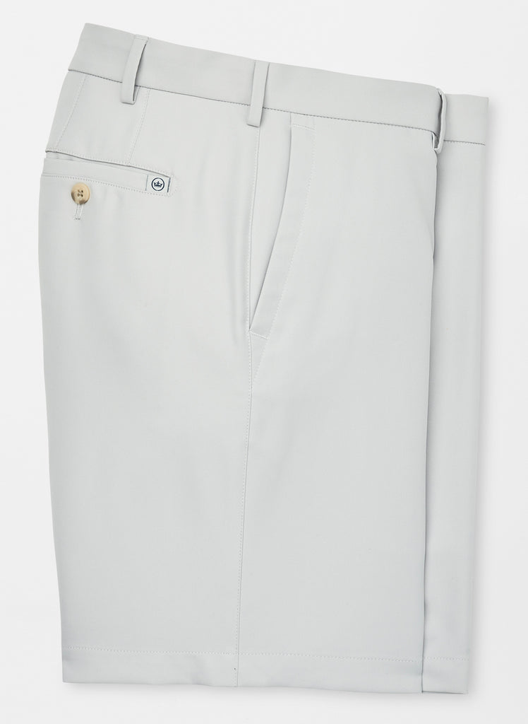 Peter Millar Salem High Drape Performance Short British Grey