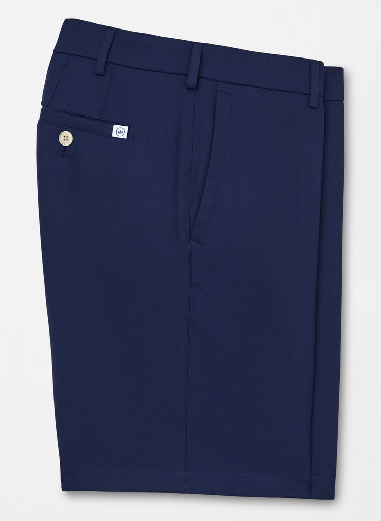 Peter Millar Salem High Drape Performance Short Navy