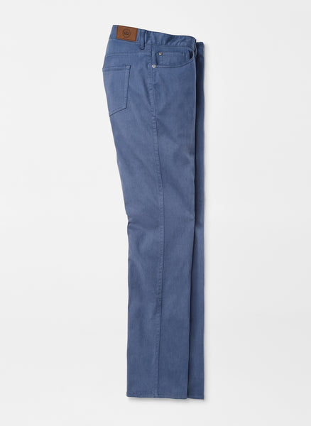 Peter Millar Crown Ultimate Sateen Five-Pocket Pant Navy