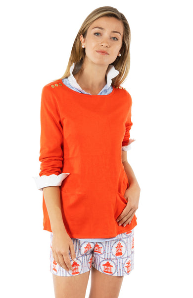 Gretchen Scott Polly Pocket Sweater Orange