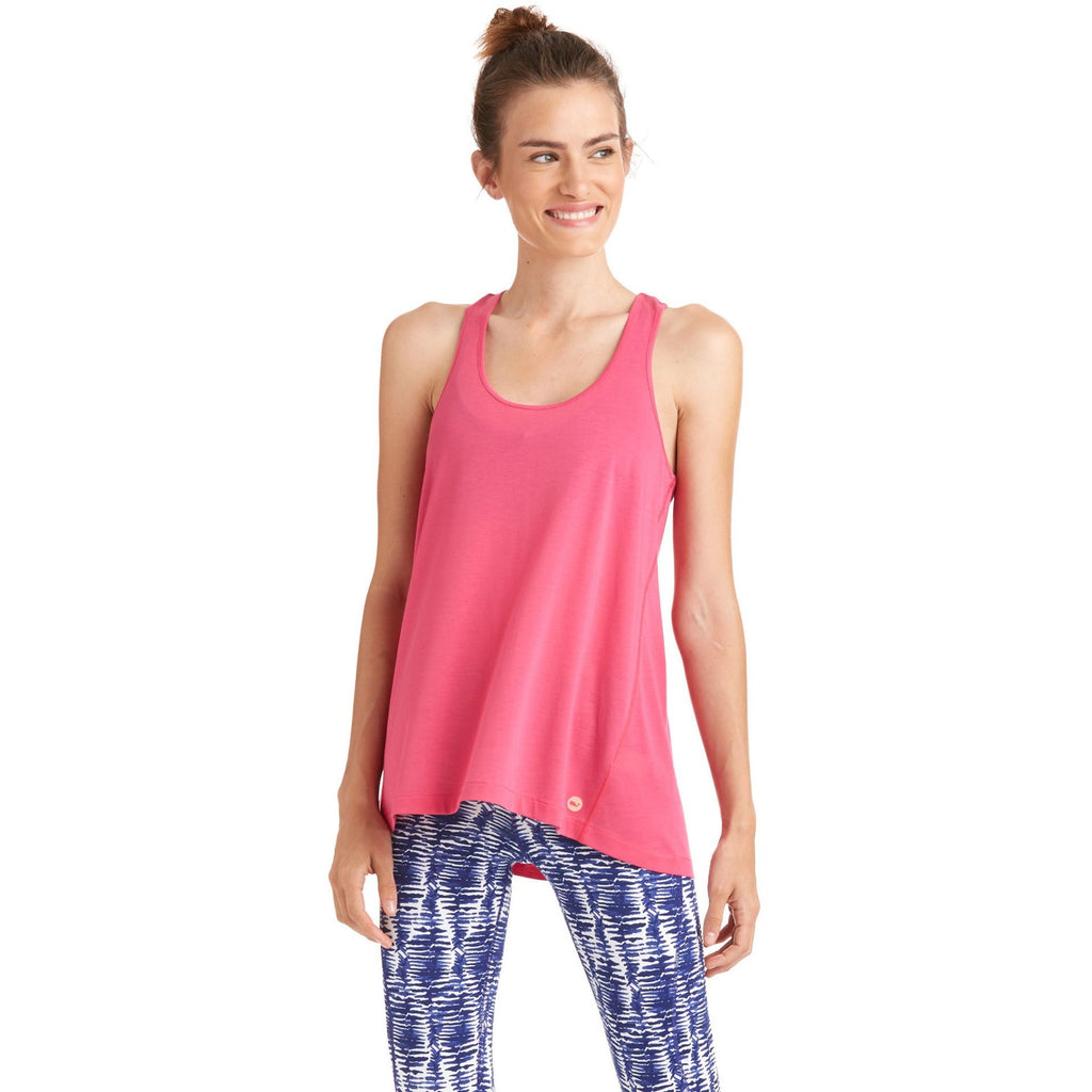Vineyard Vines Performance Tank Rhododendron