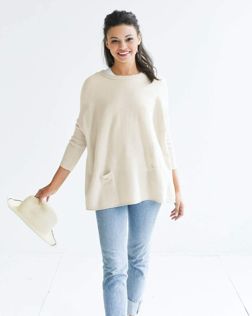 Mersea The Catalina Travel Sweater Sand