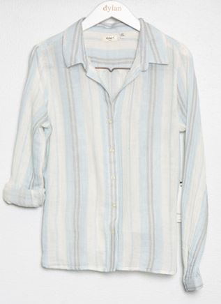 Dylan Pacific Stripe Classic Shirt