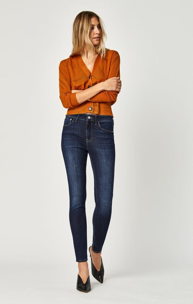 Mavi Tess Super Skinny In Deep Supersoft 27 Length