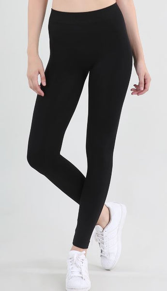 Nikibiki Solid Thick Leggings Black