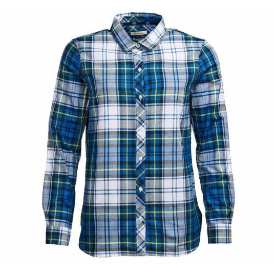 Barbour Stokehold Shirt Tide Blue Check
