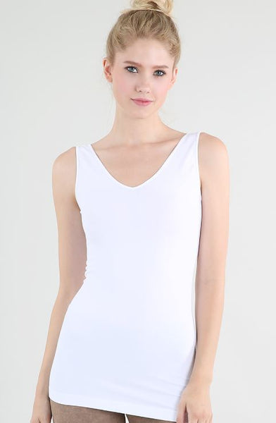 Nikibiki Reversible Tank Top White